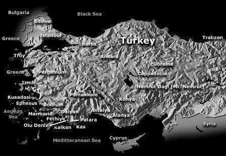 turkey property for sale map
